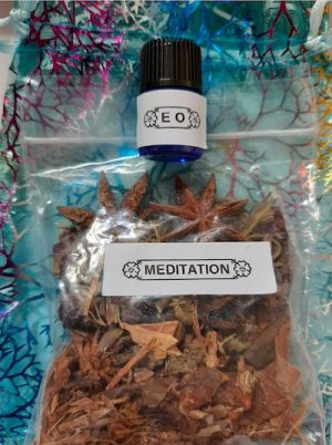 Meditation Herbs and Essential Oil