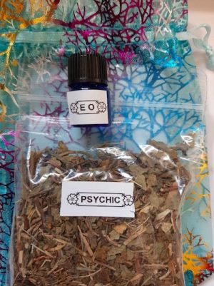 Psychic Herbs and Essential Oil